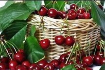 "Cherry-licious Magic! / ""Back then life was simple and sweet. Everything was simple and sweet. The taste of cherries, the cool shade, the fresh smell of the river. That was how we lived, in a vale among the hills, sheltered from the storms."" ~Cyril Pedrosa"