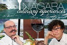 Niagara Culinary Experiences  / Culinary Experiences with Celebrity Chefs Jamie Kennedy and Massimo Capra. www.sheratononthefalls.com/niagara-falls-packages/culinary-experiences.php?