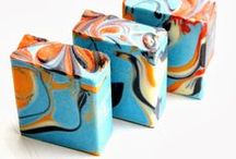 Soap ART / Swirled Soap Pictures