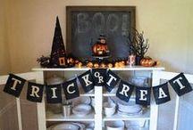Halloween Decor, Crafts + Treats