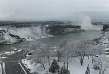 Winter Wonderland in Niagara Falls / Winter Wonderland from the Sheraton on the Falls at Falls Avenue Resort
