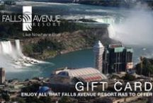 Gift Cards - Falls Avenue Resort - Christienne Fallsview Spa - Fallsview Indoor Waterpark / Gift Cards for Falls Avenue Resort
