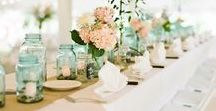 Mint Wedding Theme / Inspiration to make it easier to plan your Mint Wedding!