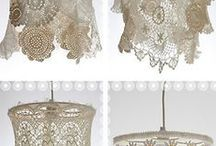 DIY Lace & Doily Projects / Home decor made from lace and doilies. / by June Parker