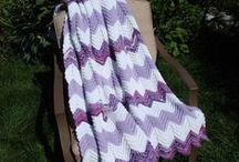 Handmade Crochet Afghans / Handmade Afghans you can purchase on Etsy. Made by my mom!