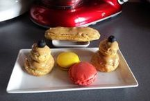 MES PRODUCTIONS EN PATISSERIES FRANCAISES / mes productions en pâtisserie
