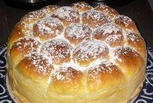 MES PRODUCTIONS BOULANGERES / ici vous trouverez des recettes de pains , de croissants, de brioches fait par mes soins etc...