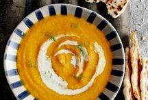08°5 SOUPE / Recettes de soupes avec que des légumes ou légumes + poisson ou viande