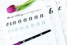[ modern calligraphy ]