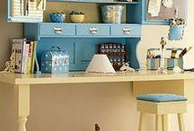 craft room/office ideas / by Renata Moni Bidin