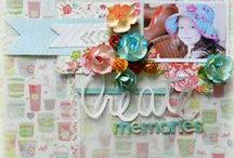 keeping my memories ( my projects) / my scrapbook projects,
