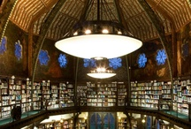Libraries and books / - the visual enchantment and longing of the soul to touch and feel, create and experience this beauty...