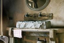 Barn House ~ my bathroom / decor ideas for our barn house / by Robin Tillman