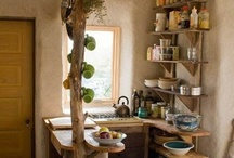 Barn House ~ very small / inspiration for a small cabin or barn house / by Robin Tillman