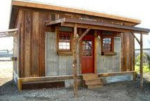 Cabin for under $4,000 / ideas for building an inexpensive living space / by Robin Tillman