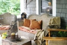 Country front porch / by Robin Tillman