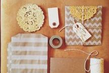 Packaging//Gifts / by Sarah Carrier