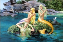 Mermaids : Beautiful & Unique / by Deborah Merrill Williams