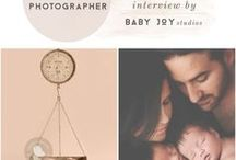 i n t e r v i e w s | photographers / Photographers Interviewed by Baby Joy Studios. More at www.babyjoystudios.com