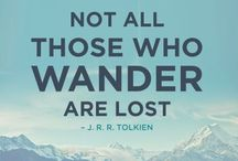 Not All That Wander Are Lost⚓ / Places I want to go or have been to:) / by Kristin Ray