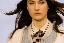 Fall 2012: Town & Country / rich herringbones, cable knits and tweeds dominated the Fall runways.