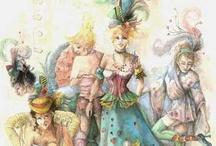 Costume Design / Carol Brolaski and Friends / by Carol Kline