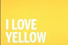 Yellow / by Chiewling Tay