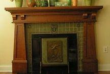 Fireplaces / by Carol Kline