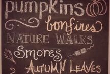 Fall/Thanksgiving.  / by Chelsey Erwin-Coffman