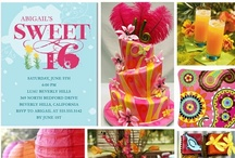 Party Ideas / Kellen's 16th Birthday...getting ideas! / by Kristin Ray