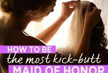 MOH and Bridesmaid Duty / by Katrina Alumbaugh