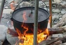 Going Dutch / cooking with a Dutch oven