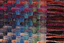 Weaving / I'm fascinated watching people weave and I've wanted to try it for a long time. I think I'm going to break down and spend some birthday money on an inexpensive loom and give it a go!