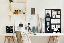 home {office} / workspaces/home offices