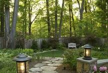 Landscaping n Gardening / I am not much of an outside person, but I do like it looking nice. / by Beverly Zimmerman