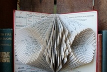 Book Sculptures/Altered Books