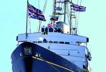 Scotland's best visitor attraction / Follow in the footsteps of Royalty and world leaders aboard The Royal Yacht Britannia and discover her 5 decks with the fascinating audio tour. #Edinburgh #Scotland
