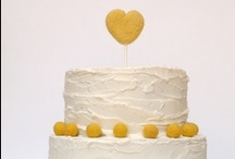 Yellows & Whites / Sweets, flowers, DIY and decoration