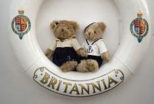 Little Princes and Princesses - Royal Baby Gifts / The Royal Yacht Britannia's baby clothing range for little Princes and Princesses.