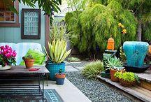 home {outside} / beautiful patios, balconies, yards, decks, etc.