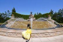 ビビディ・バビディ・ブティックでベル姫に変身した娘の写真8選 / 先日、東京ディズニーランドホテルの「ビビディ・バビディ・ブティック」で、勢い余って娘をベル姫に変身させてしまった際の写真より。ホテル内に複数ある見事なお庭などで撮りました。  My daughter was transformed into princess belle. (Bibbidi Bobbidi Boutique/Tokyo Disney Resort)  May 16 to 18, 2014