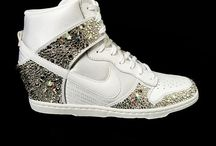 Sneakers / Sneaker Style | Swarovski Sneakers | Chicks in Kicks | Chic Sneaker Fashion
