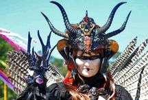 Headdress: HORN / The Horned Headdress.