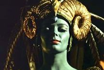 Hollywood Headdress / Headdresses in Hollywood film. portraits, and still photographs.