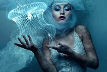 Sirens of The Sea / Mermaids, Mermen, Ocean Goddesses & Gods.