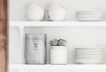 shelves + stacks / inspirational shelves - or bits that stack well together