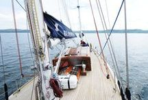 Bloodhound 2015 / Photos from The Royal Racing Yacht's 2015 Charter season.