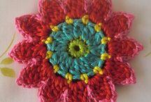 Flores / Lindas flores a crochet