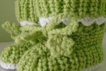 Zapatitos de bebe / Crochet