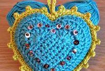 Corazón a Crochet / Corazones